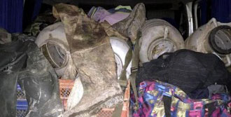 Bismil'de Kaçak Kurbağa Avına Suçüstü