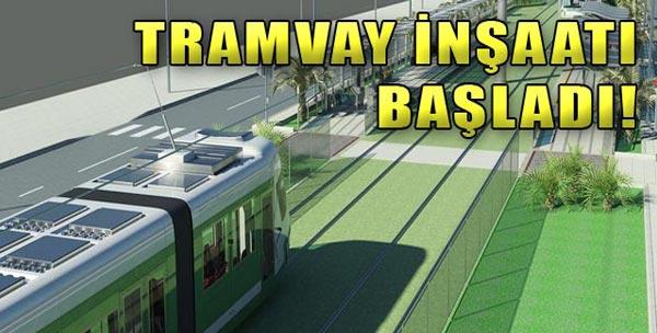 Tramvaylar Yolda!