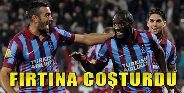 Trabzonspor 2 - 0 Lokeren
