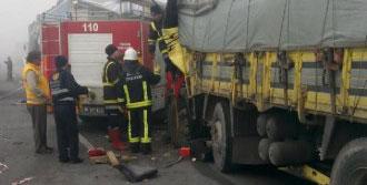 Bursa'da Zincirleme Kaza: 1 Ölü 2 Yaralı