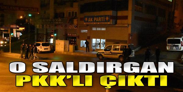 AK Parti Binası Önündeki Polislere Ateş Açan Terörist Yakalandı