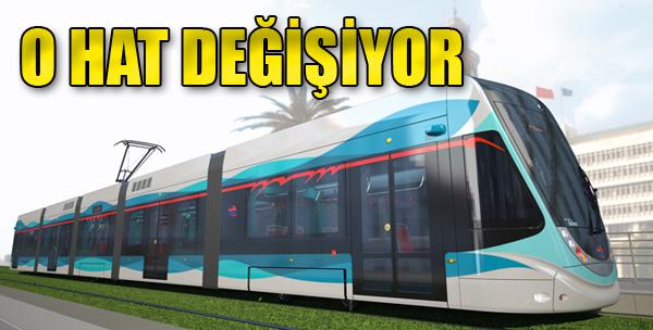 Tramvay Hattında Değişiklik