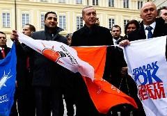 Başbakan'a Prag'da Sürpriz