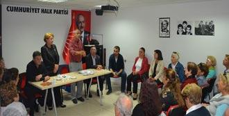 Çam, Balçova İlçe Örgütünü Ziyaret Etti