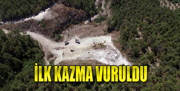 Belenyenice Göleti'ne İlk Kazma Vuruldu