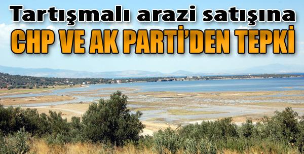 Aliağa'daki Tartışmalı Arazi Satışına CHP ve AK Parti'den Tepki