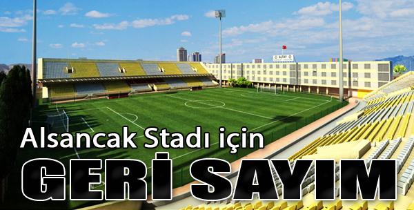 Alsancak Stadı İçin Geri Sayım