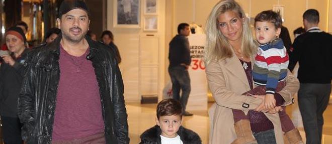 Çocuklarıyla Alışverişe Çıktılar