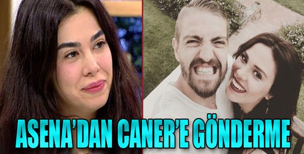 Asena Atalay'dan Caner Erkin'e Gönderme