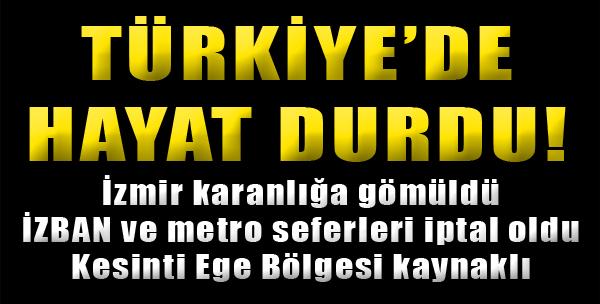 Türkiye'de Hayat Durdu!