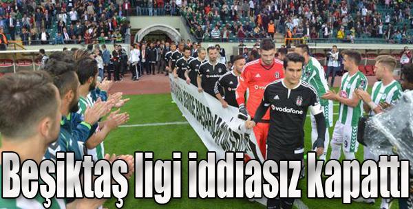 Beşiktaş Ligi İddiasız Kapattı