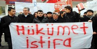 Protestoya Çevreyi Kirlettiniz Cezası