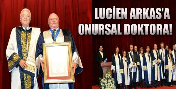 Lucien Arkas'a Onursal Doktora