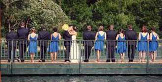 Düğünde Köprü Çöktü