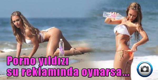 Porno Yıldızı Su Reklamında Oynarsa...