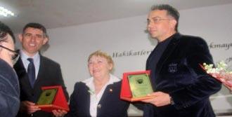 Feyzioğlu Bergama'da Konferansa Katıldı!