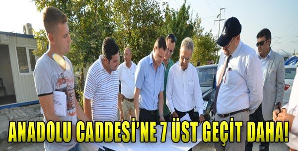 Anadolu Caddesine El Attı!