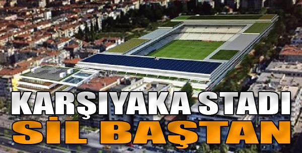 Karşıyaka Stadı Yine Başa Döndü