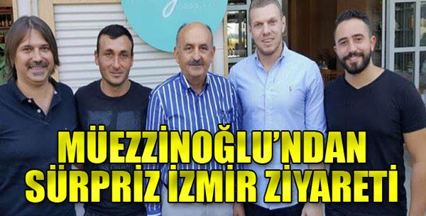 Bakan'dan Çat Kapı İzmir Ziyareti!