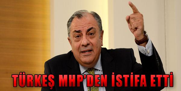 Türkeş İstifa Etti