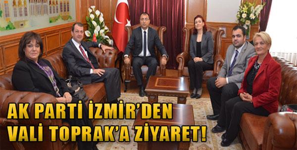 AK Parti İzmir'den Vali Toprak'a Ziyaret