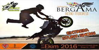 Bergama'daki Motosiklet Festivali 7 Ekim'de Başlıyor