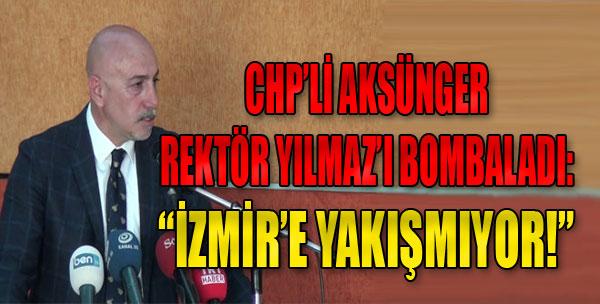 Aksünger, İzmir'den Uyardı