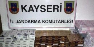 5 Bin 890 Paket Kaçak Sigara Yakalandı