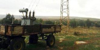 Şanlıurfa'da Mobil Trafoya El Konuldu