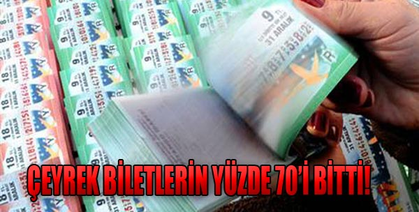 Milli Piyango Biletlerine Hücum!