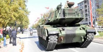 Kayseri'de 29 Ekim Provası
