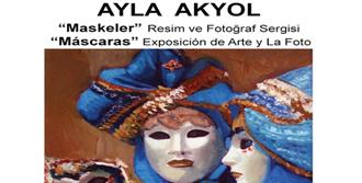 Ayla Akyol'dan 'Maskeler' Sergisi
