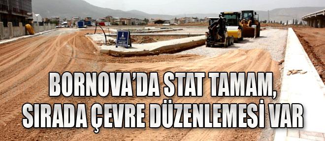 Bornova'da Çalışmalar Hız Kesmiyor