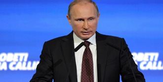 Putin'den Türkiye'ye Suriye Teşekkürü