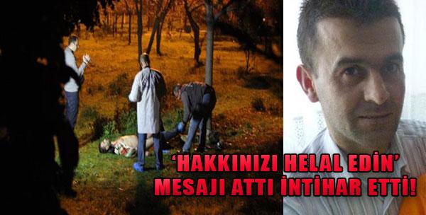 İzmir Kent Ormanı'nda İntihar!