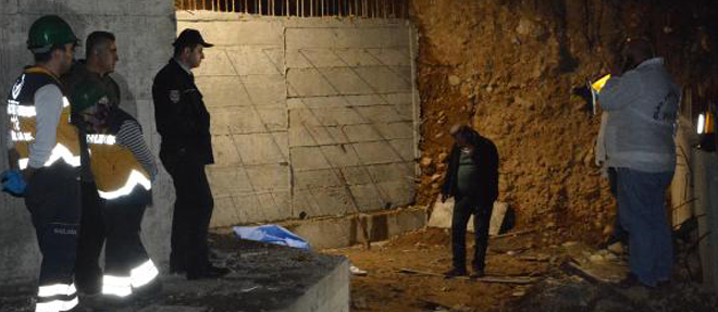 İşçi inşaattan düştü