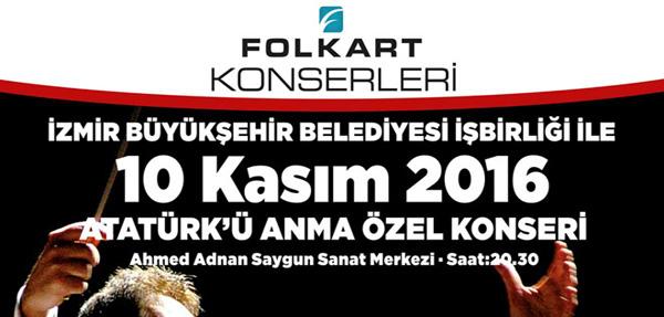 İzmir Senfoni, Dev Konserle Ata'sını Anacak