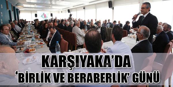 Karşıyaka'da 'Birlik ve Beraberlik' Günü