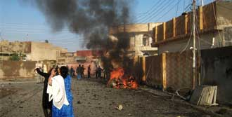 Irak Patlamalarla Sarsıldı