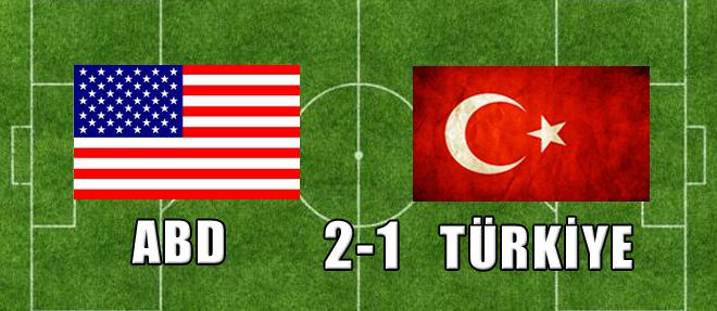 ABD:2 - Türkiye:1