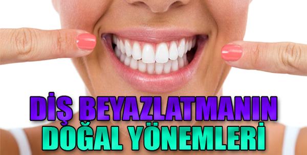 Sararmış Dişler İçin Doğal Çözümler