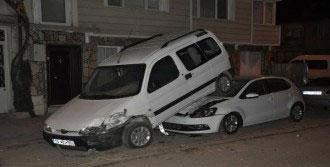 İnegöl'de Görenleri Şaşırtan Kaza