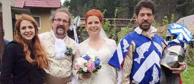Hünal Slovak Düğününde
