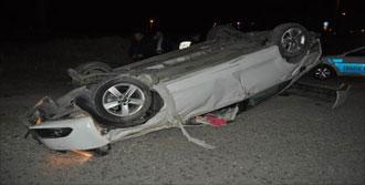 Takla Attığı Otomobili Bırakıp Kaçtı