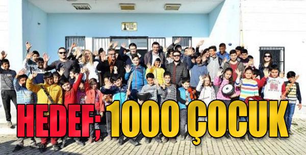 Yetenekli 1000 Çocuk Hedefi