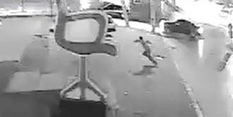 Kazada Ölümden Kaçış Kamerada
