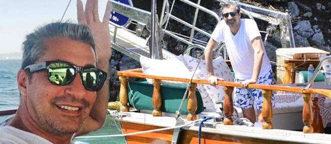 Teknesinde Yangın Çıktı