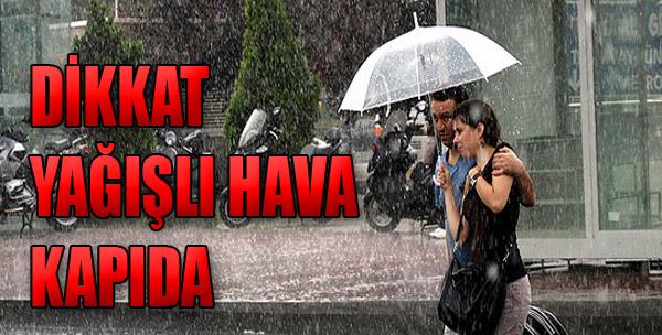 Valilikten Yağış Uyarısı