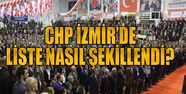 İşte CHP İzmir'de Yönetim Listesi
