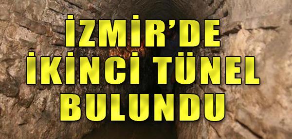 İzmir'de İkinci Tünel Sürprizi